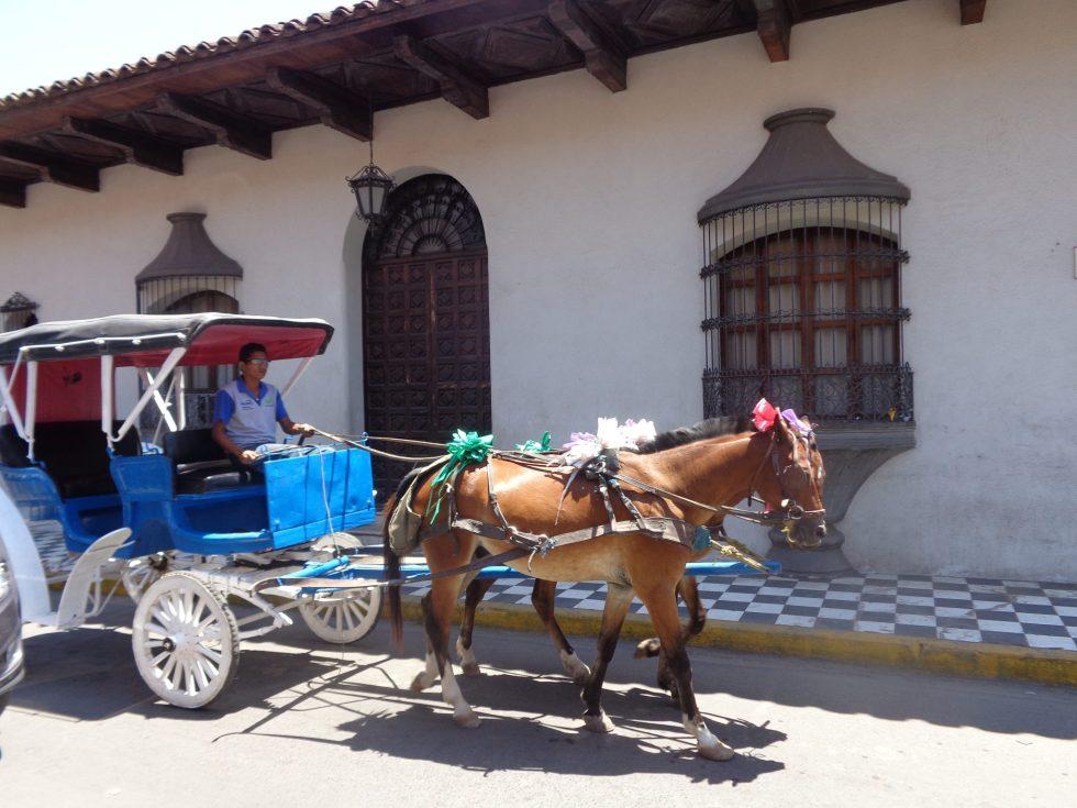 nicaragua horse carriage