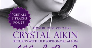 "Powerhouse Vocalist Crystal Aikin Returns with Her Sophomore Album ""All I Need"""