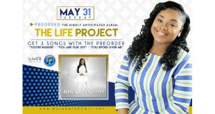 Jekalyn Carr - The Life Project - Preorders May 31, 2016
