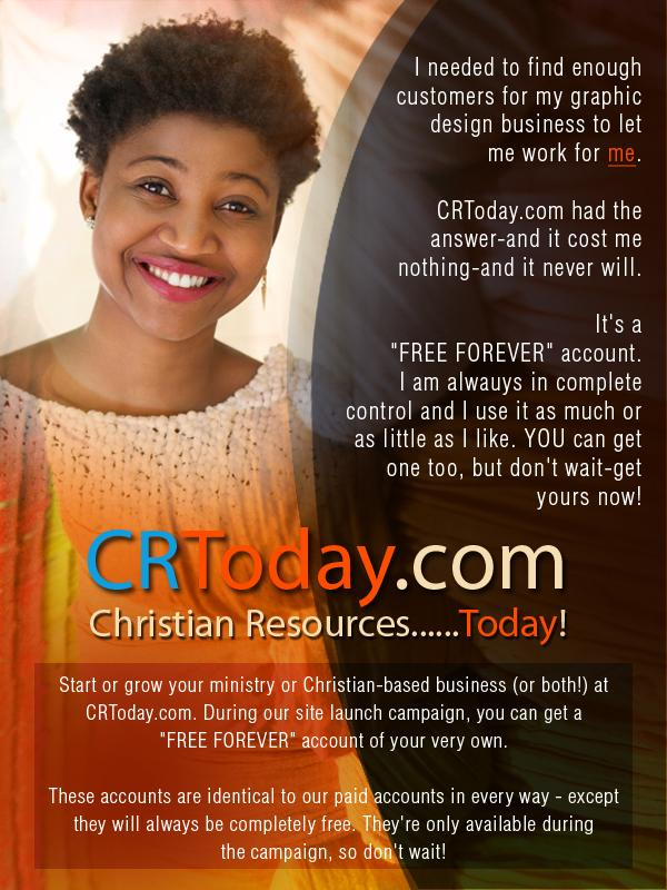 FREE Exposure for Your Christian Ministry or Business on CRTToday.com!