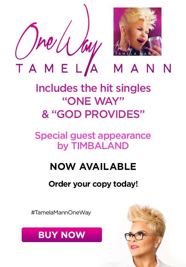 "NEW From TAMELA MANN - ""ONE WAY"" - Now Available !!"