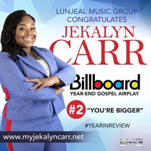 Lunjeal Music Group Congratulates Jekalyn Carr