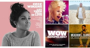Here are FIVE of the Top Selling Gospel Albums! Which TWO are your favorites this week?