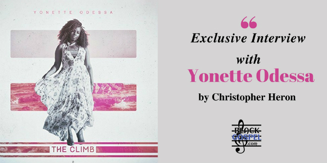 "Yonette shares her story, her journey & her concept behind ""The Climb"" 