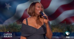Yolanda Adams will be performing at this year's PBS special: A Capitol Fourth!