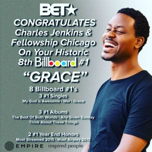 "Charles Jenkins Hits No. 1 With ""Grace""!"