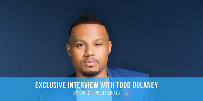 "Todd Dulaney discusses his transition from a retired professional baseball player to singing gospel, about recent accolades and ""Your Great Name."" 