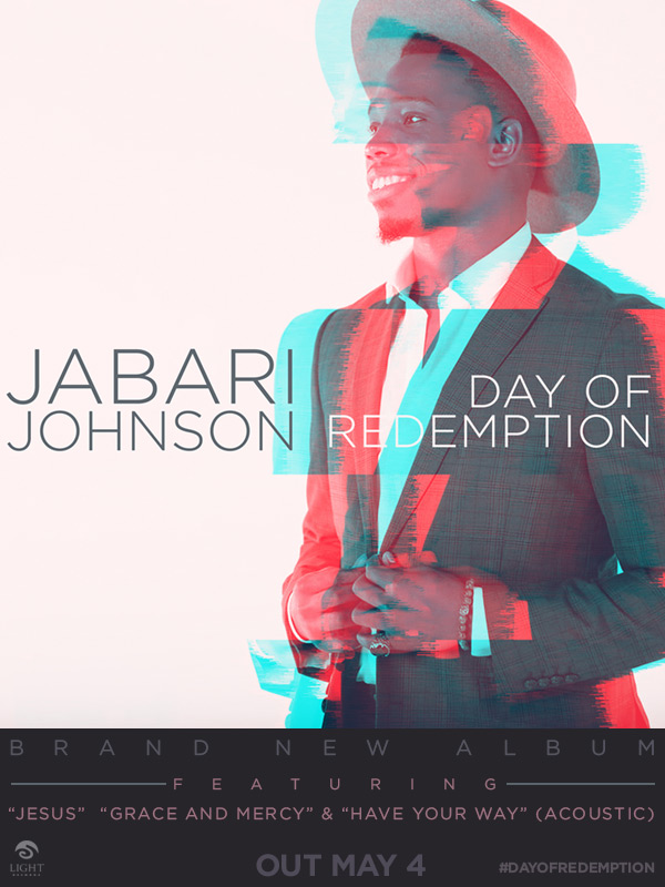 JABARI JOHNSON Set To Release DAY OF REDEMPTION Pre-Order Now !!