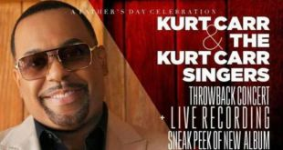 Kurt Carr Gears Up For LIVE Recording June 17th