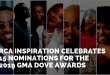 RCA INSPIRATION CELEBRATES15 NOMINATIONS FOR THE 2019GMADOVE AWARDS