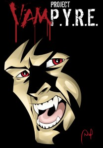 Project VamP.Y.R.E. comic pitch art