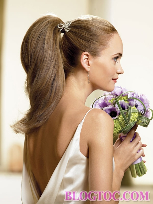 Beautiful classic bridal hairstyles add to her elegance and elegance 7