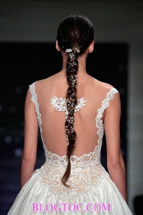 The beautiful hairstyles with bridal accessories that are evaluated by experts will thrive in the near future 11