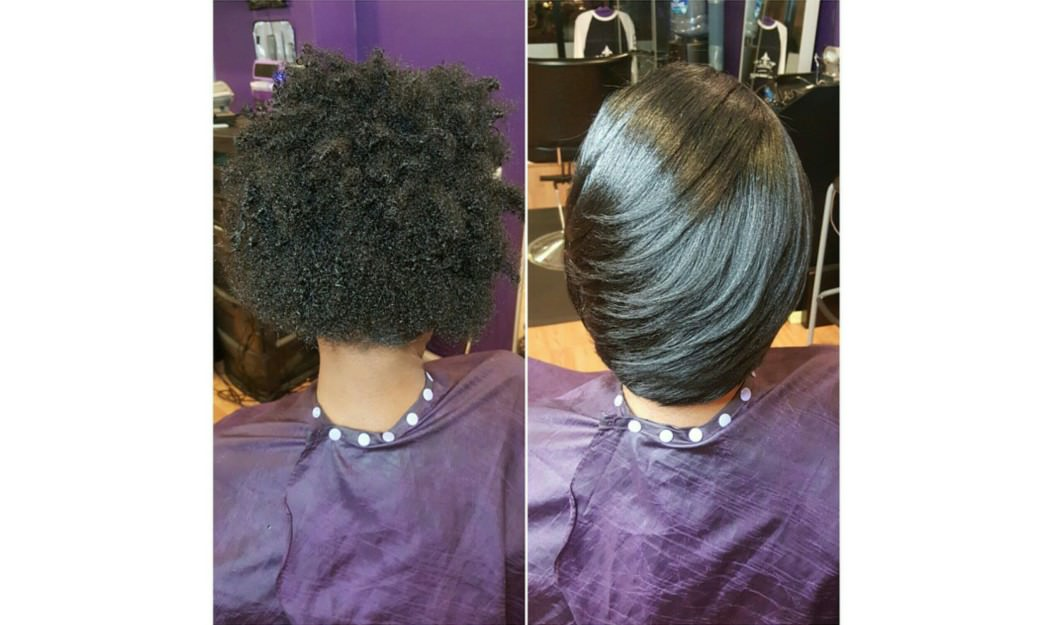 The Silk Wrap Treatment Straight Hair Without The Heat