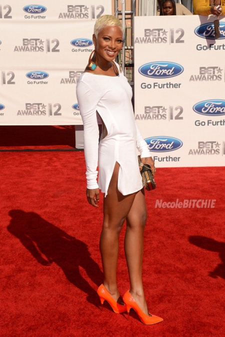Eva Marcille Unleashes A New Blonde Look For Fashion Police