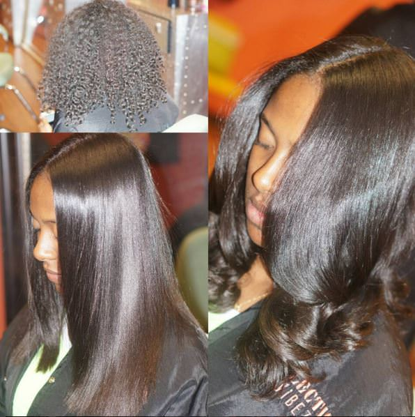 Straight Haired Naturals Can Retain More Length With The