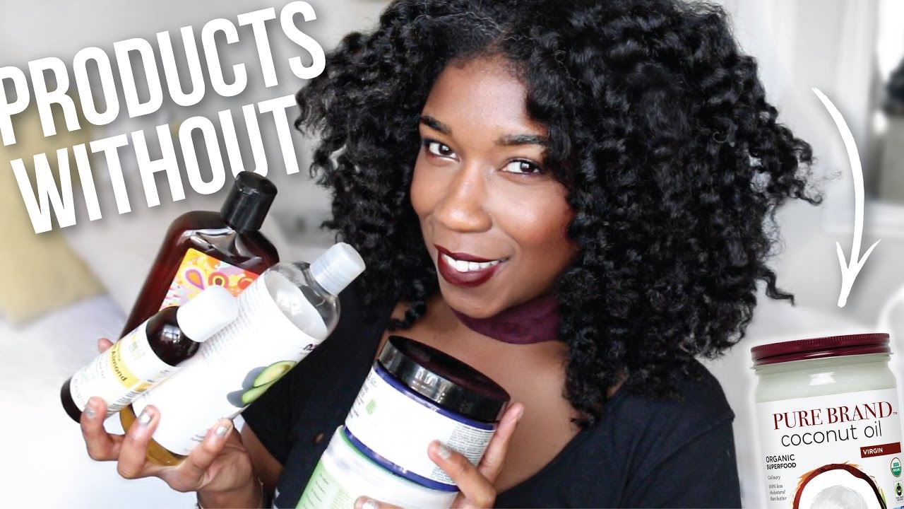 Natural Hair Products WITHOUT Coconut Oil Ive Been Using
