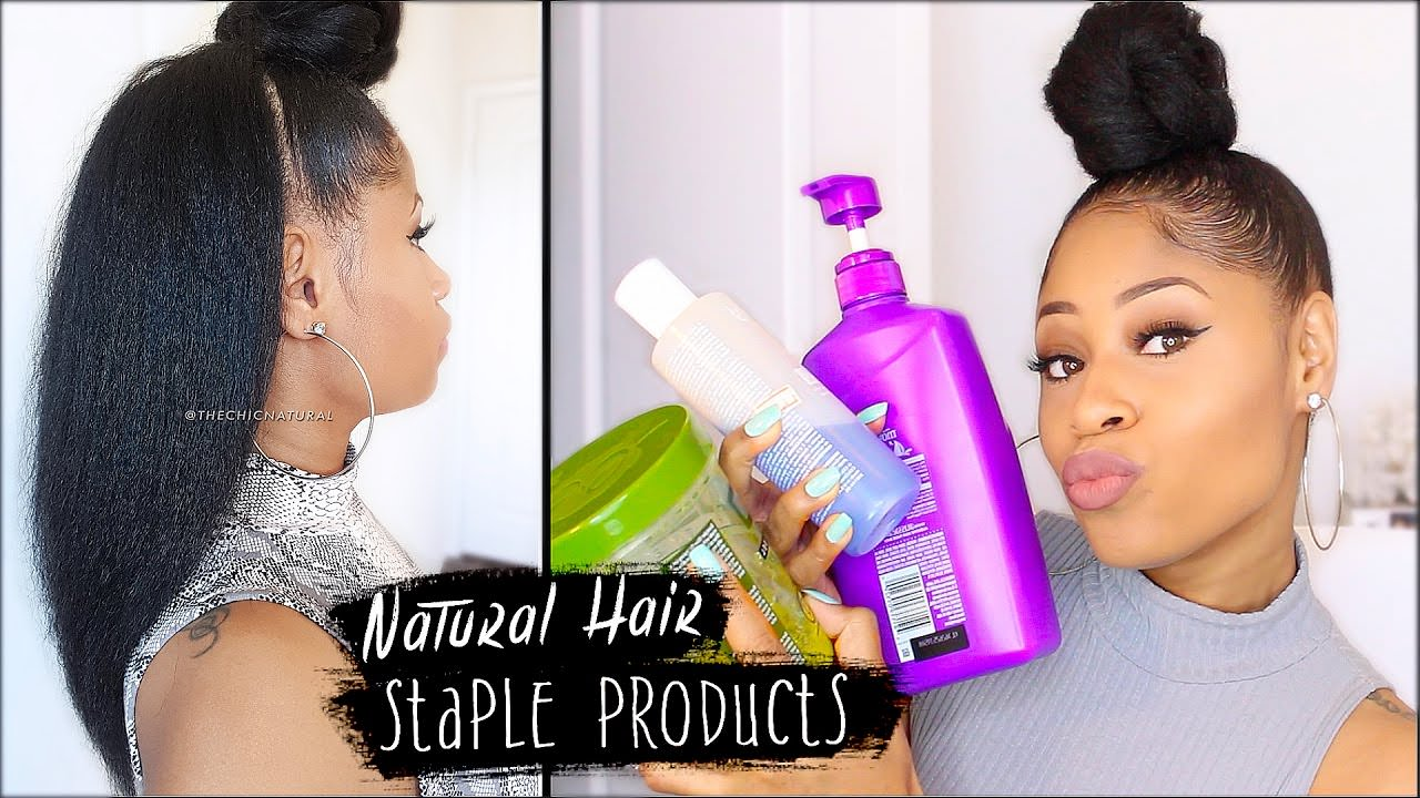 MY STAPLE PRODUCTS For NATURAL HAIR Everything I Use For