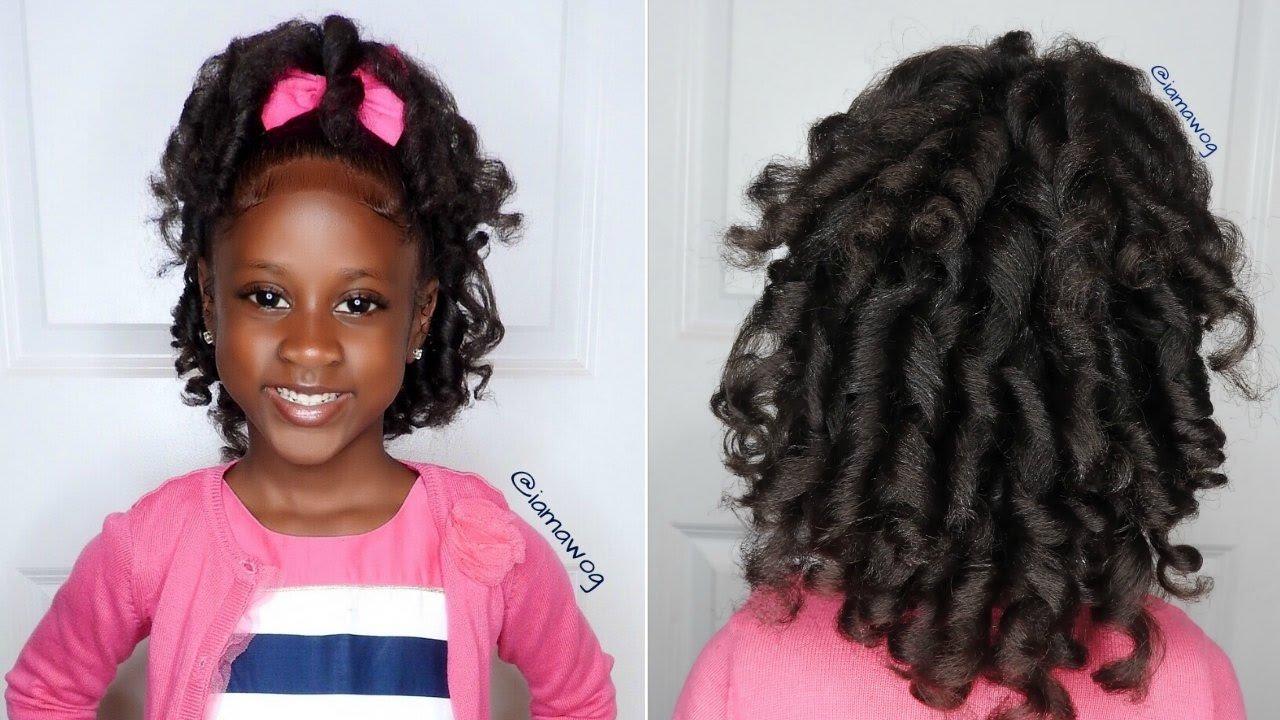 Overnight Heatless Curls Ft Aunt Jackies Girls Kids