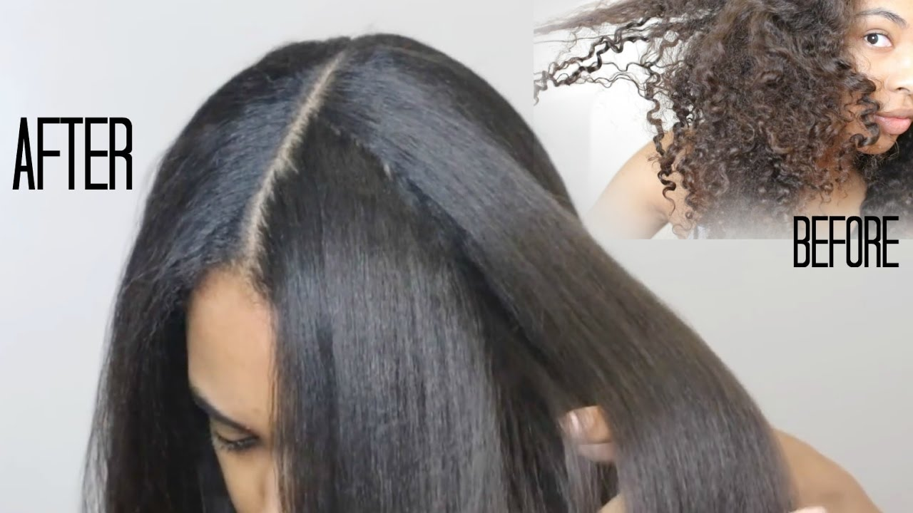 All Natural HAIR RELAXER 100 Safe Video Black Hair