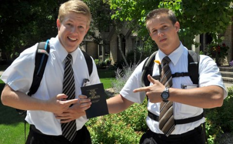 Mormons are colonizers