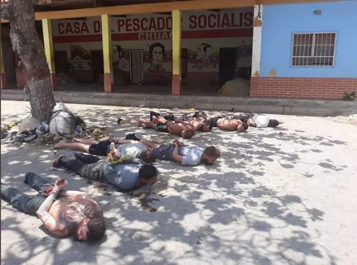Another miserably failed coup attempt in Venezuela