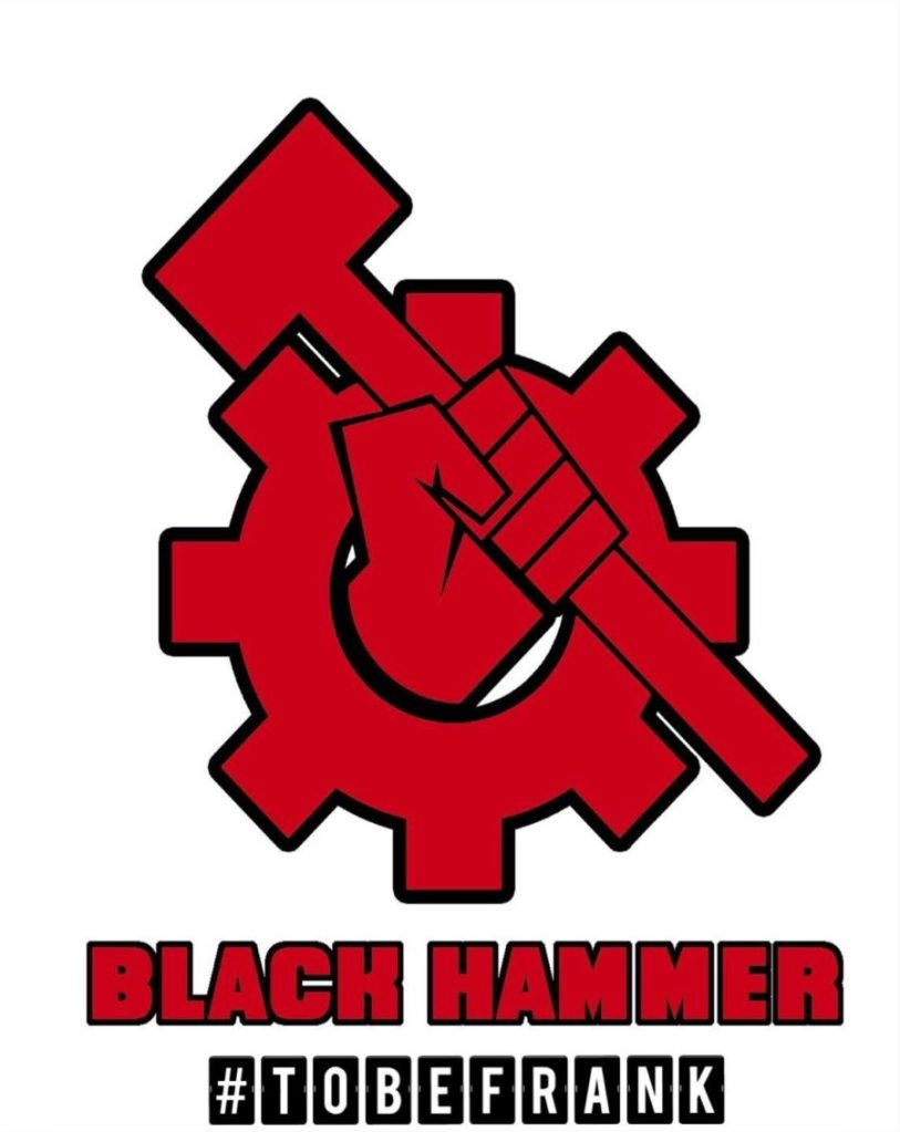 Black Hammer launches #2BFrank to combat colonizer, white leftists