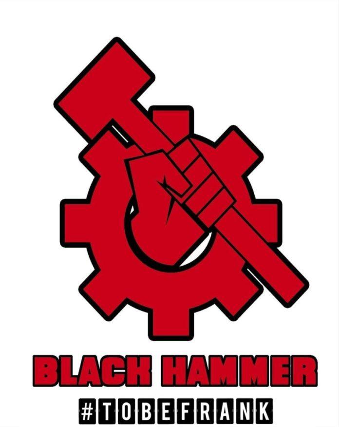 Black Hammer Header Logo