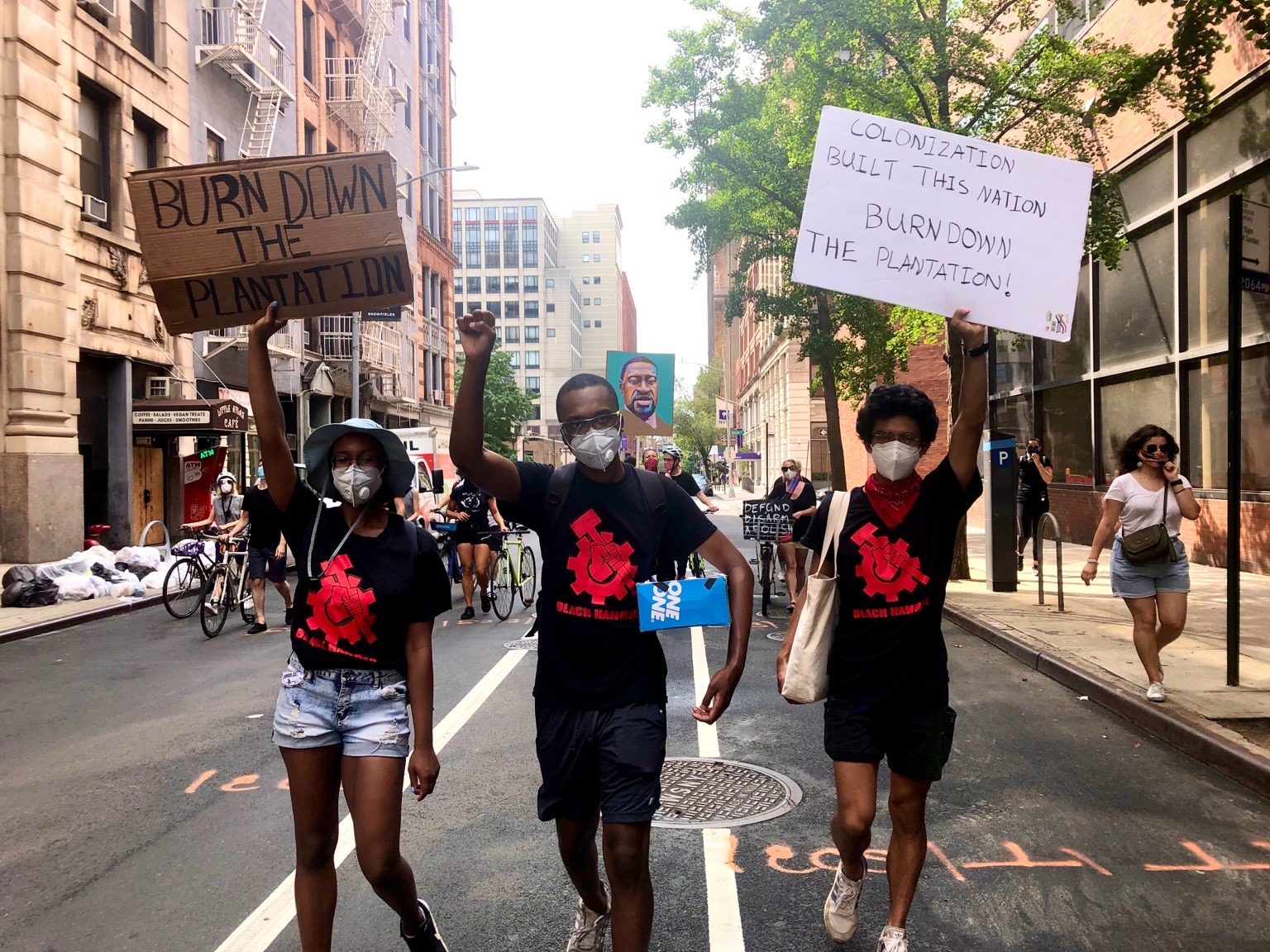 Black Hammer New York exposes protests led by sellouts