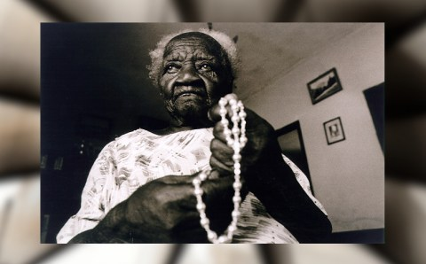 The last slave in Brazil died 20 years ago. Dona Maria do Carmo is why we say #LandBack!