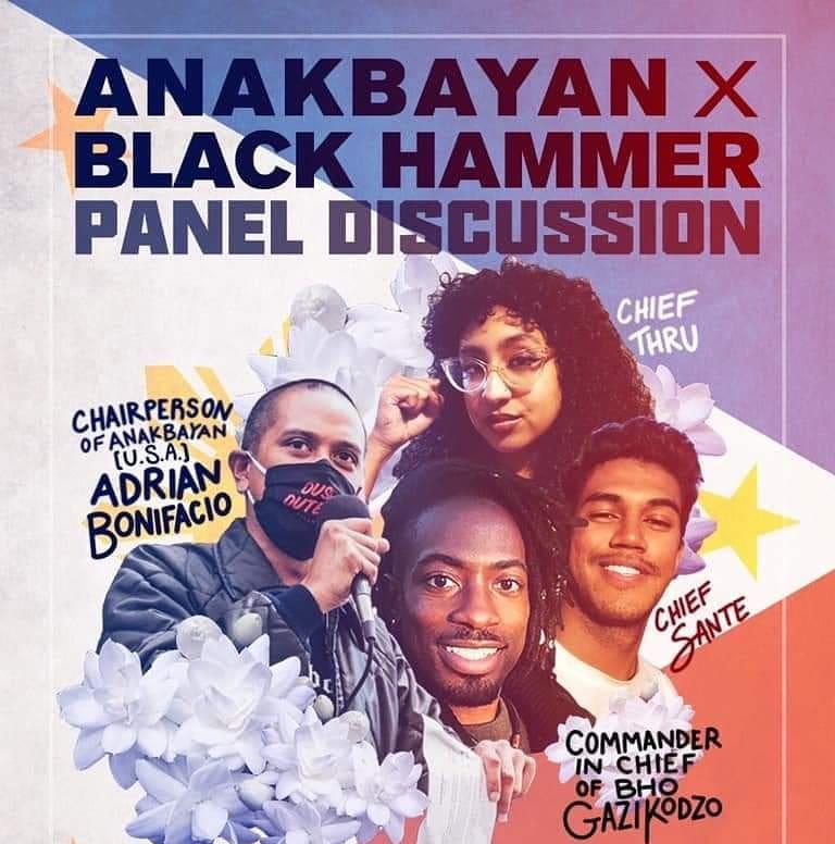 Tune in as Anakbayan & Black Hammer talk revolutionary truths