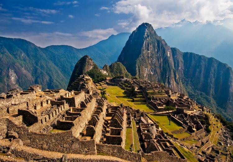 Incan empire Machu Picchu