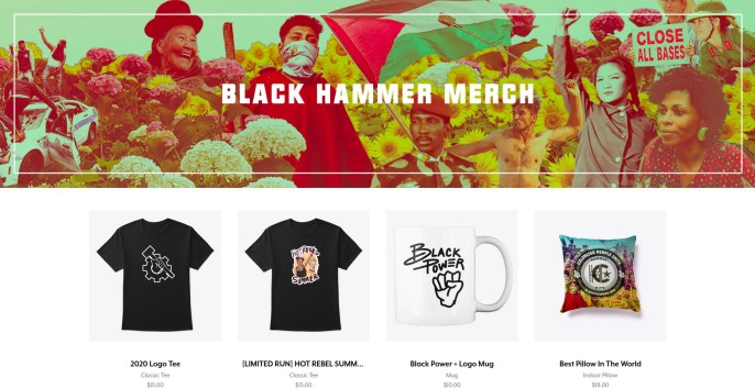 teespring merch site with swag