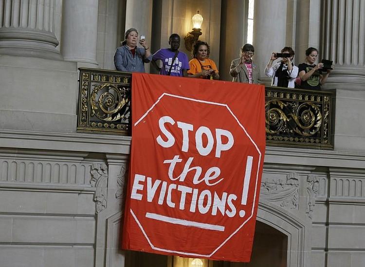 Californian Ku Klux Karen Evicts Comrade