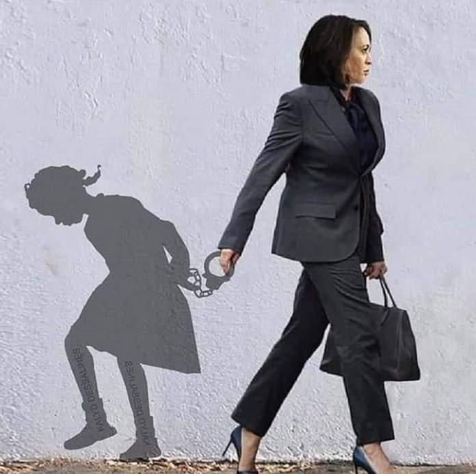 Image of Kkkopmala arresting African girls shadow