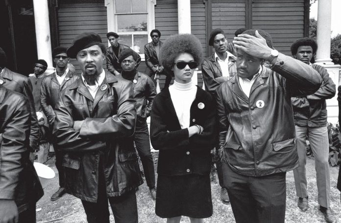 Header for article, photo of Black Panthers
