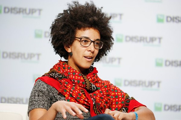 speaks onstage during Day 3 of TechCrunch Disrupt SF 2018 at Moscone Center on September 7, 2018 in San Francisco, California.
