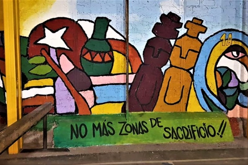 VIEWPOINT MAGAZINE Mural by Brigadas Ramona Parra
