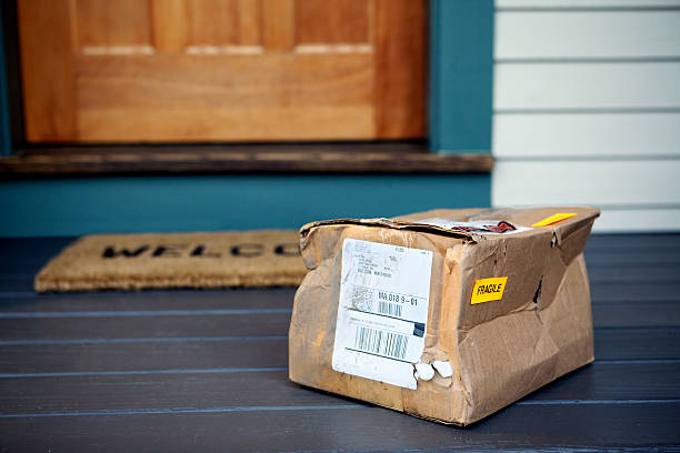 image of a damaged package