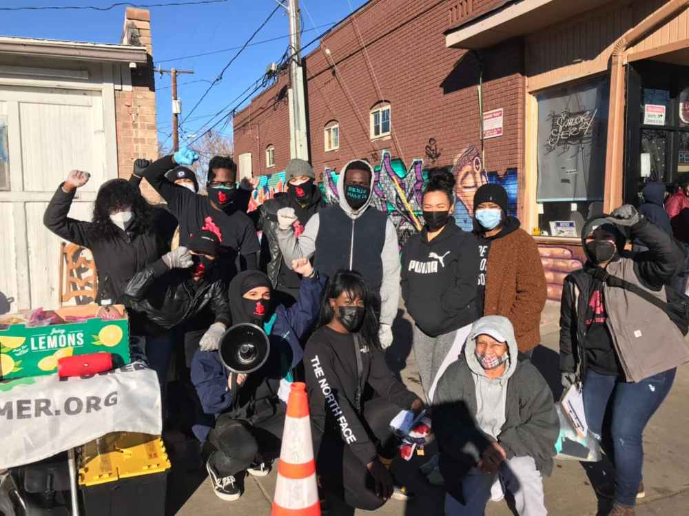 Black Hammer Colorado Chapter doing outreach