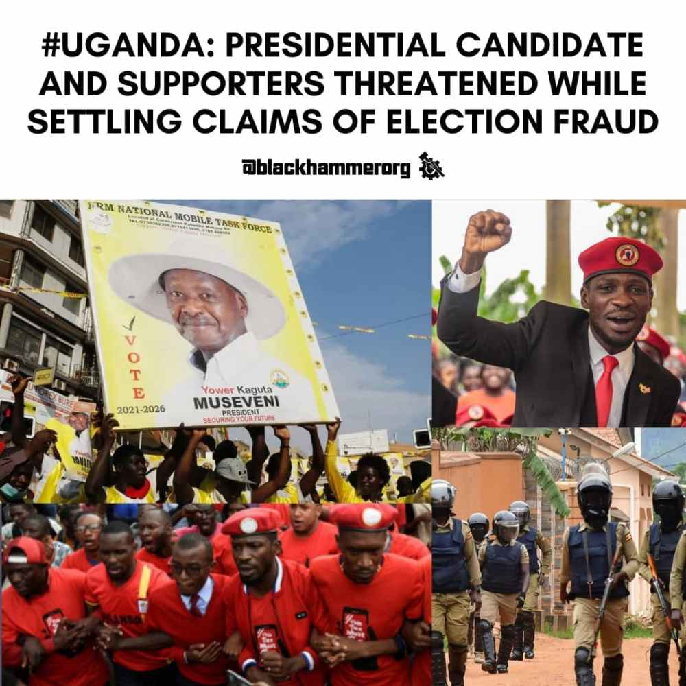#Uganda: Presidential Candidate And Supporters Threatened While Settling Claims Of Election Fraud