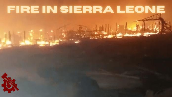 Fire in Sierra Leone Feature image