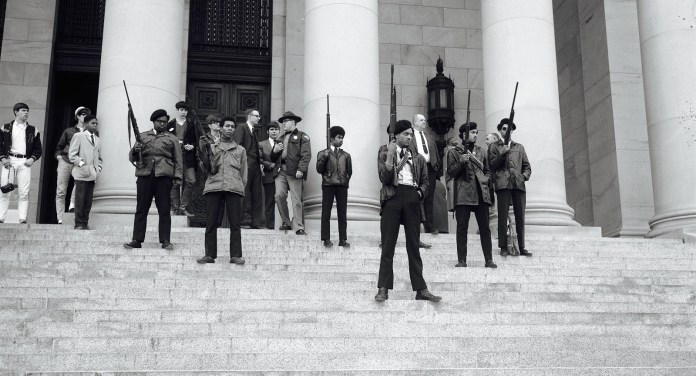 Black Panthers defending themselves and the Colonized masses