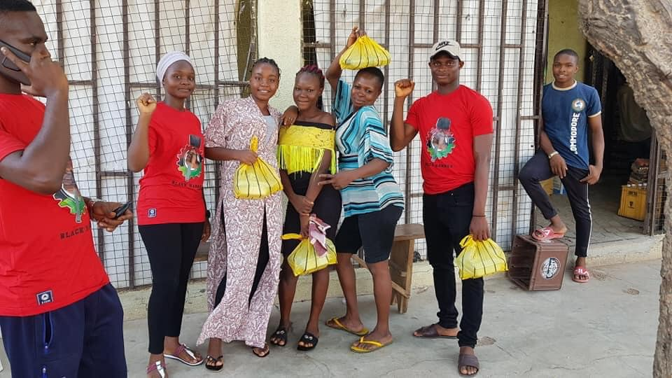 Black Hammer Chapter in Nigeria serving their people!