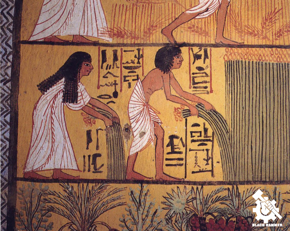 Egyptian agriculture allowed this African Nation to flourish for thousands of years until now
