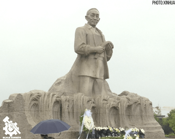 Chinese People pay their respects to the late Yuan Longping, De'an County, East China, May 23rd 2021