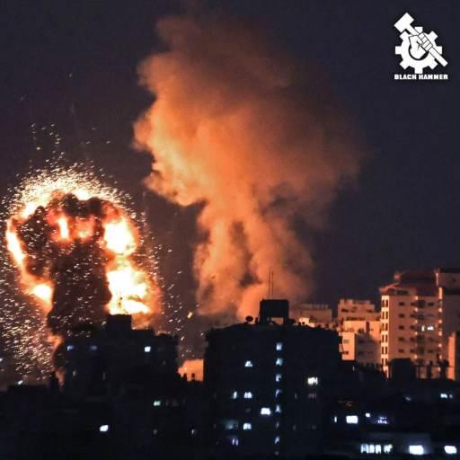 Murderous air strikes ordered on Palestinians