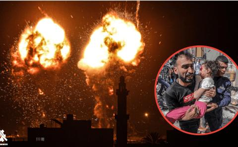 Israel Breaks Ceasefire In Less Than 3 Weeks, Bombing Gaza Strip and Killing Palestinians