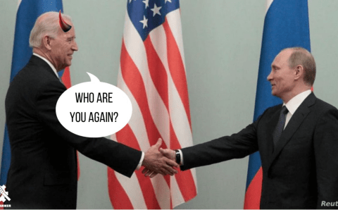 Sleepy Joe Meets With Putin: What You Missed Out On