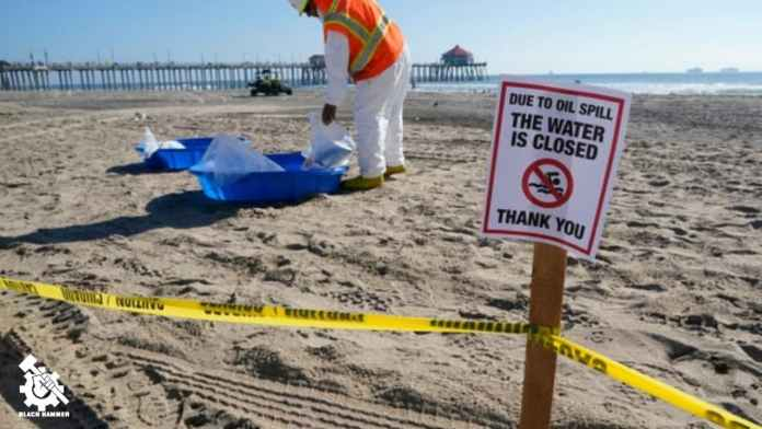 a recent Oil Spill of the Coast of Long Beach is reported as being one the worst ecological disasters of the Pacific coasts history